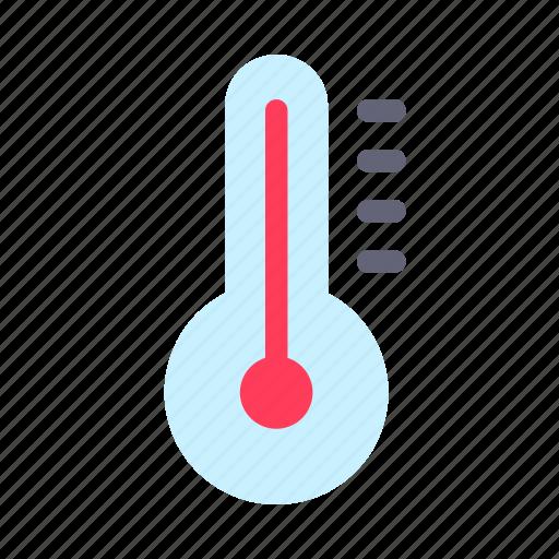measure, temperature, thermometer icon