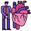 care, doctor, heart, hospital, medical, medicine, screening icon