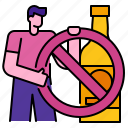 alcohol, alcoholic, alcoholism, beverage, forbidden, glass, no