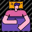 bed, bedroom, dream, night, pillow, relax, sleep