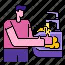 cleaning, coronavirus, covid, hands, hygiene, soap, washing
