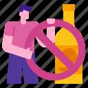 alcoholism, forbidden, beverage, glass, alcoholic, alcohol, no icon