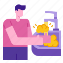 cleaning, covid, hands, hygiene, soap, washing