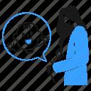 pregnancy, health, care, mother, pregnant, baby, boy icon