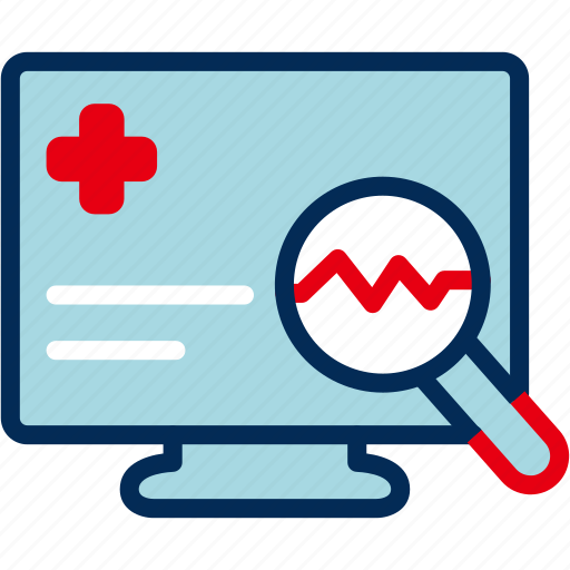 Ecg, find, heart, heartbeat, medical, pulse icon - Download on Iconfinder