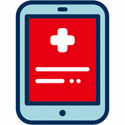 app, health, healthcare, medical, mobile, tablet icon
