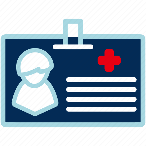 Card, medical, id, person, profile, user icon - Download on Iconfinder