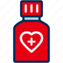 bottle, drug, medication, medicine, pharmacy, pills icon