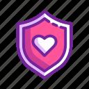 health, heart, protection, shield