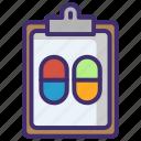 capsules, drug, healthcare, medical, medicine, pharmacy, treatment icon