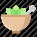 ayurvedic, herbal medicine, medicine bowl, mortar, pestle mortar, pharmacy tool