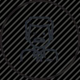 avatar, doctor, healthcare, hospital, line, medicine icon