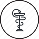 drugs, healthcare, line, medicine, pharmacy icon