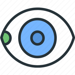 eye, healthcare icon