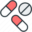 drugs, healthcare, pills