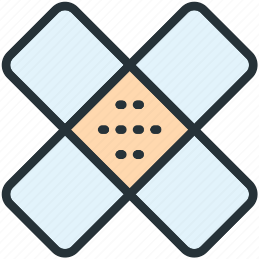 healthcare, patch icon