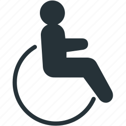 disabled, healthcare icon