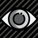 healthcare, hospital, medical, optical icon