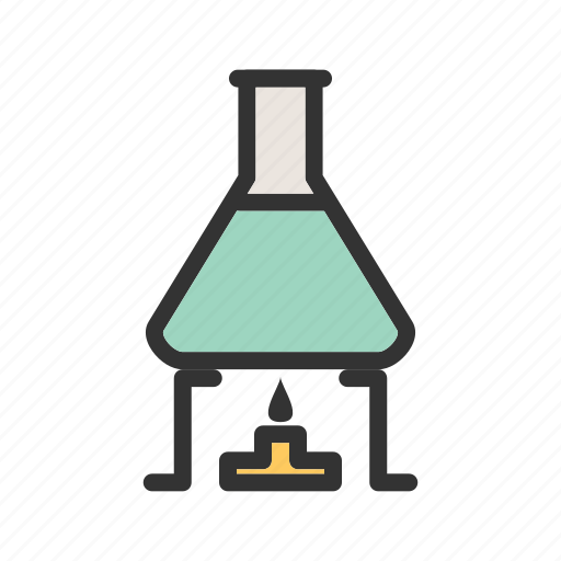 Beaker, beakers, chemistry, laboratory, medical, science, set icon - Download on Iconfinder