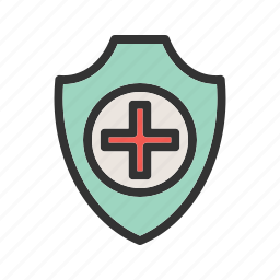 doctor, health, insurance, protect, protection, protective, shield icon