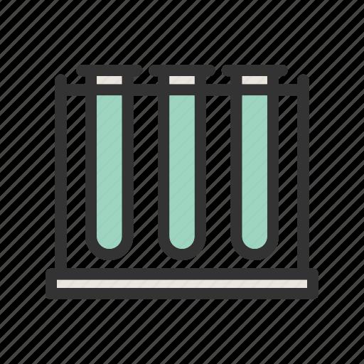 Beaker, beakers, chemistry, laboratory, medical, science, set icon - Download on Iconfinder