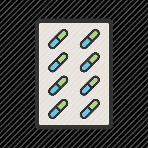 capsules, drug, health, herbal, medicine, pharmaceutical, pills icon