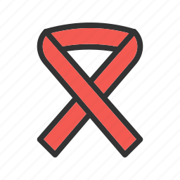 bow, cancer, pink, red, ribbon, space, walk icon