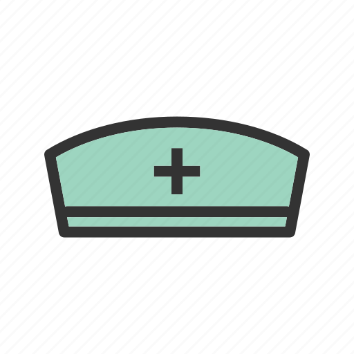cap, healthcare, mask, medical, medicine, nurse, scrubs icon