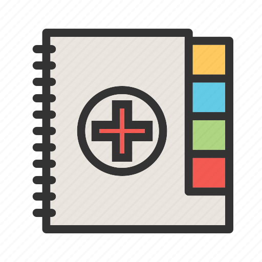 doctor, health, insurance, medical, notes, paperwork, patient icon