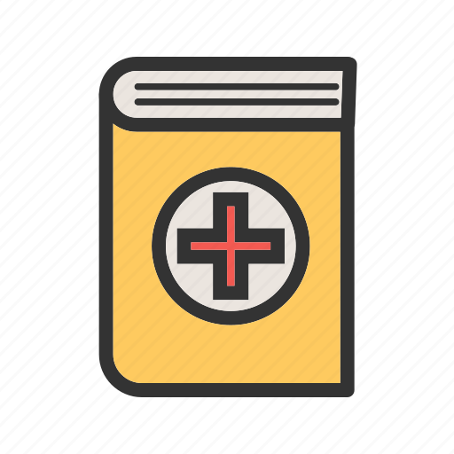 bill, book, hospital, information, medical, patient, record icon