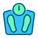 clinic, healthcare, hospital, medical, medicine, scales icon
