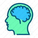 brain, head, health, healthcare, medical, neurology icon