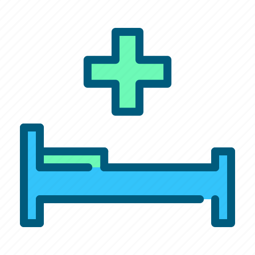 bed, clinic, emergency, health, healthcare, hospital, medical icon