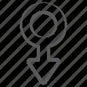 gender, male, male sign, man \, sex, sign