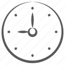 wall clock, timepiece, watch, clock, timekeeper, time keeping device icon