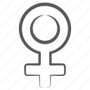 female, gender, male sign, sex, sign, woman