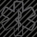 caduceus, healthcare symbol, medical sign, medical symbol, rod of asclepius