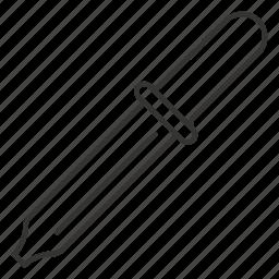 color, dropper, picker, pipette, tool icon
