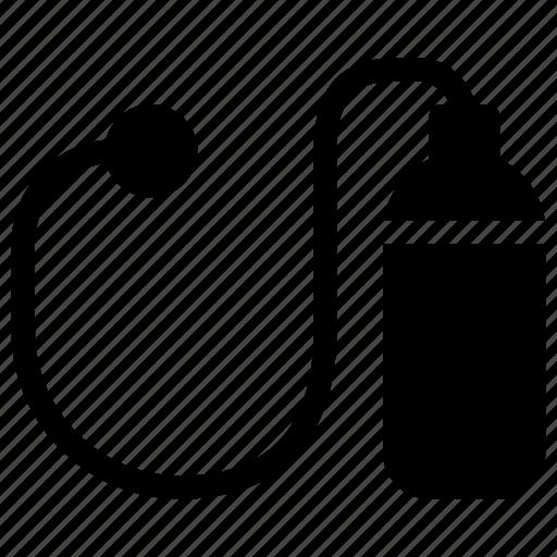 bottle, clinic, drug, health, healthcare, mask, medical, oxygen icon