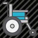 dissability, handicap, health, medical, wheelchair icon