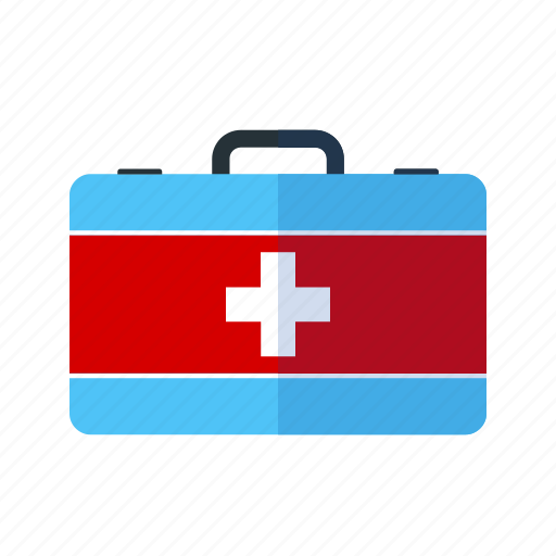 box, emergency, first aid, health, kit, medica, safety icon