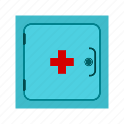 cabinet, drugs, medication, medicine, pharmacy, prescription, store icon