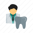 care, clinic, dental, dentist, dentistry, patient, teeth icon