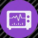 drug, electrocardiogram, health, healthcare, hospital, medical icon