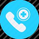 call, drug, health, healthcare, hospital, medical icon