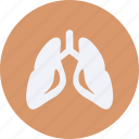 drug, health, healthcare, hospital, lungs, medical icon