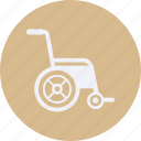 drug, health, healthcare, hospital, medical, wheelchair icon