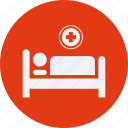 bed, drug, health, healthcare, hospital, medical icon