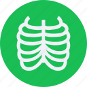 cage, drug, health, healthcare, hospital, medical, rib icon