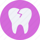 damage, drug, health, healthcare, hospital, medical, teeth icon